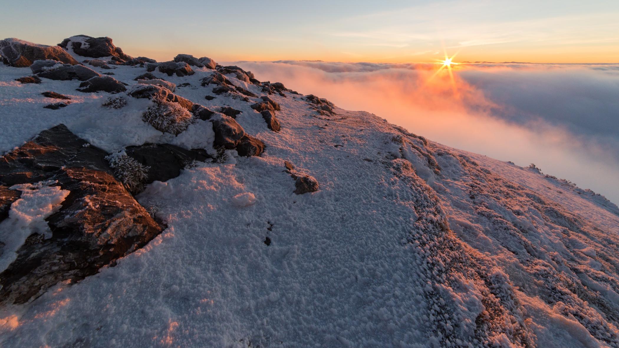 Sunrise at Krivan